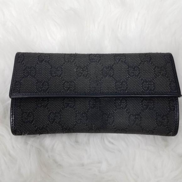 cf8381e7a0cf Gucci Bags   Womens Long Wallet Gg Monogram   Poshmark